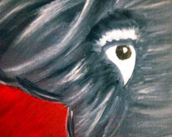 Alabama painting crimson tide art roll tide gift roll tide art bama fan gift
