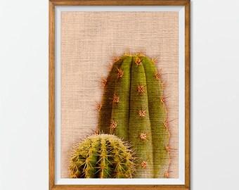 Printable Cactus, Desert Printable, Tropical Printable, Desert Artwork, Cactus Artwork, Artwork Tropical