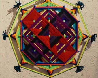 Estrella Roja - Mandala