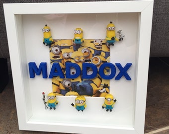 Minion Personalised Frames