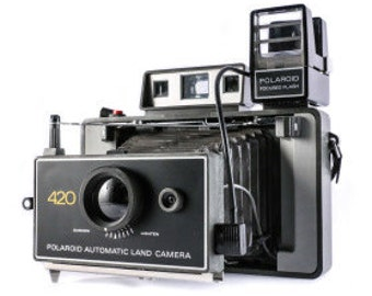 POLAROID LAND CAMERA 420