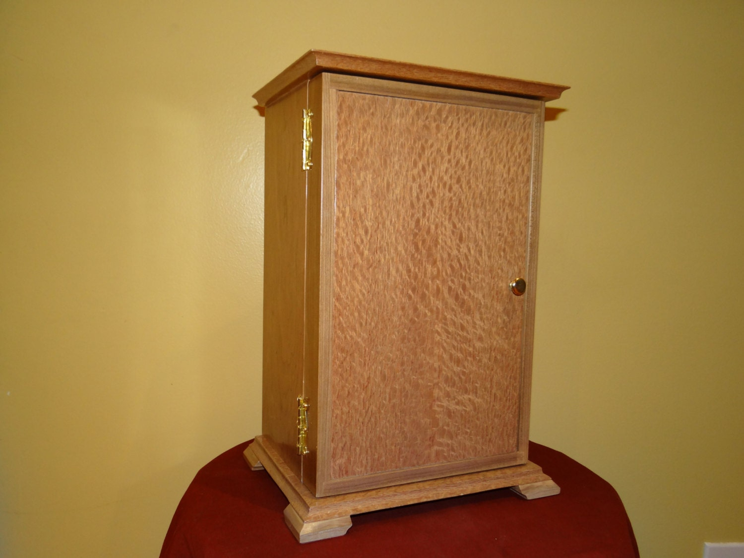 Tall Jewelry Box With Front Door Jewelry By Slhwooddesigns