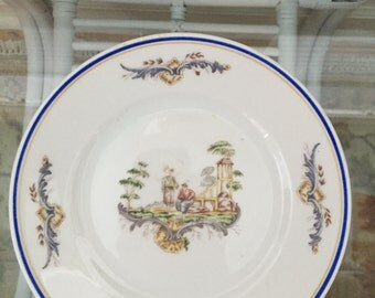 Lorenz Hutschen Reuther Chinoiserie Decorative Plate