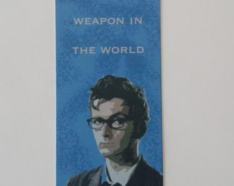 Doctor Who Bookmark - Books are Weapons