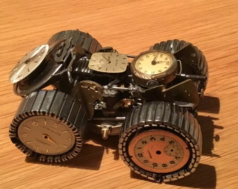 4 x 4 Quad Bike made from watch parts