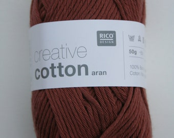 Rico Creative Cotton Aran Nougat 056