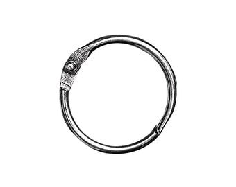 Rayher openable nickel-free metal ring RAY-332520100