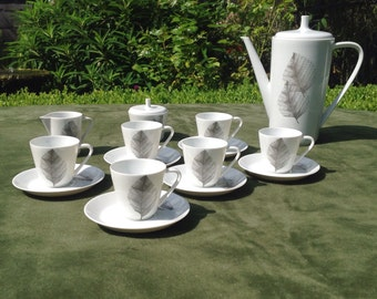 Vintage Coffee set by Hutschenreuther