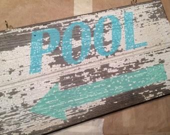 Barnwood Pool Sign