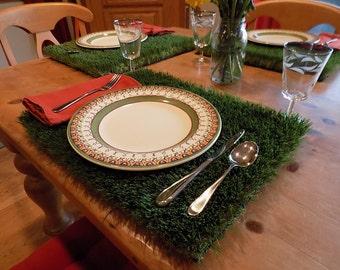 Grass Placemat - Set of 2