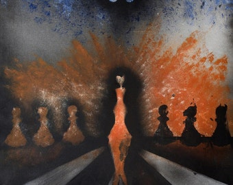 """Poster """"Chess Game"""" (60cm x 80cm)"""