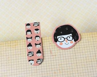 Magnetic Bookmark / Magnetische boekenlegger