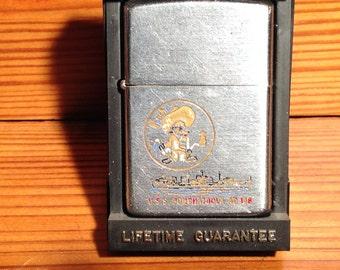 Zippo  1972 U.S.S Ponchatoula Zippo Lighter