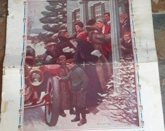 The Youth's Companion December 1911 Christmas Paper Stories