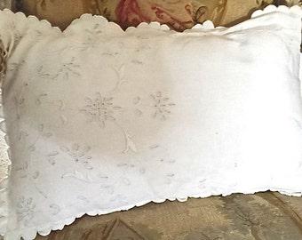 A handmade cushion