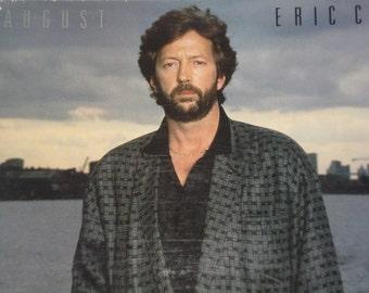 Eric Clapton vinyl record, August vintage vinyl record album