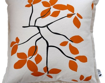Leaves, decorative pillow