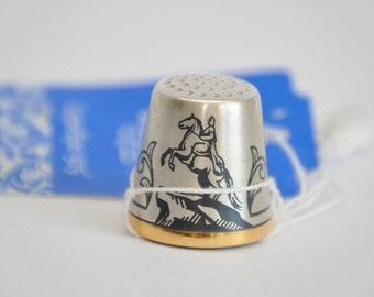 "Silver Thimble ""The Bronze Horseman"","