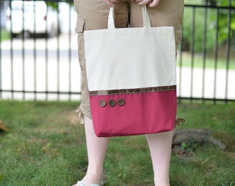 Basic Tote - Red
