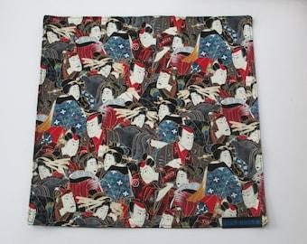 Kabuki custom hand made handkerchief