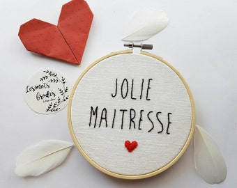 Embroidery mistress / master