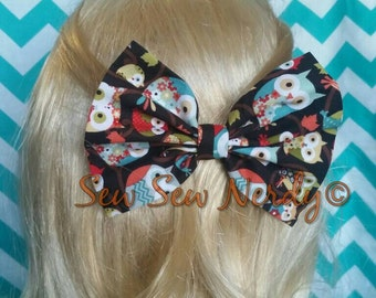 Brown owl bow