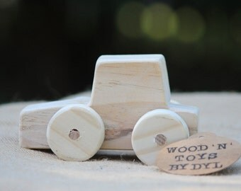 Cruz - Handmade Wooden Toy Car