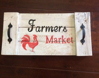 Farmers market tray