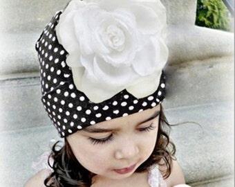 3D Flower Hat Cap Beanie