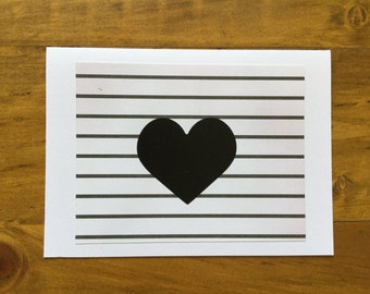 Heart Handmade Card