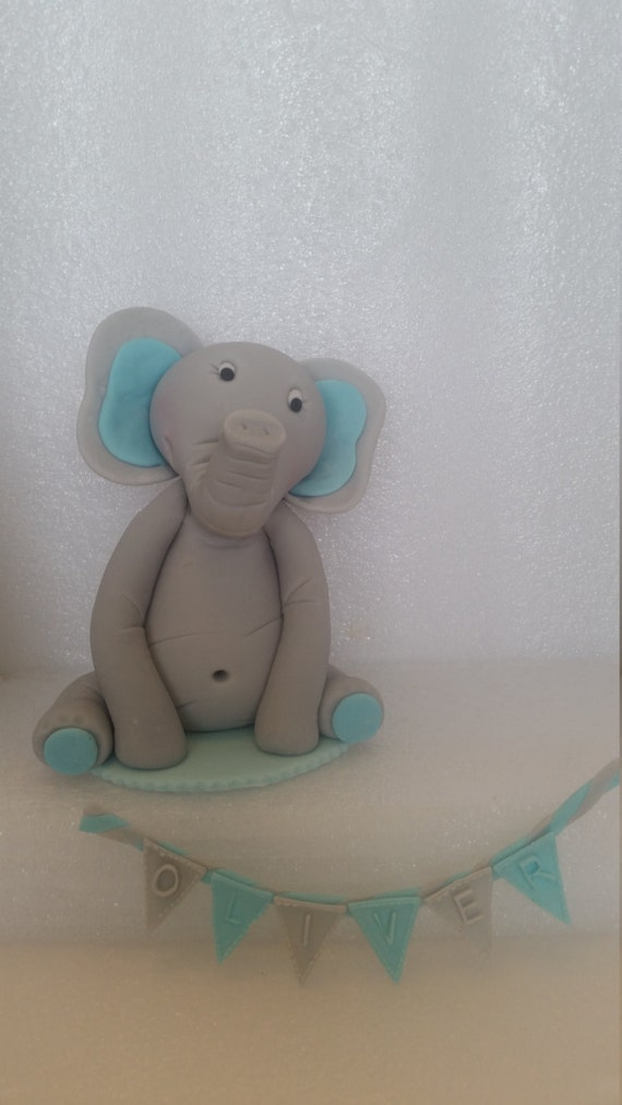 Edible Elephant Cake Decorations : 6