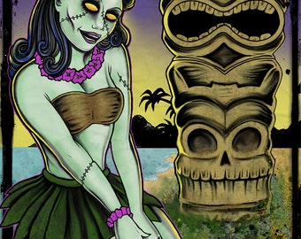 Tiki of the dead