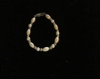 SALE, REDUCED,  ANTIQUE baby bracelet