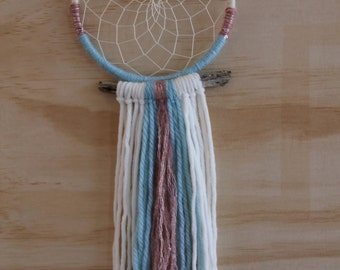 Handmade 'The Sky Is Yours' Dreamcatcher Wall Art