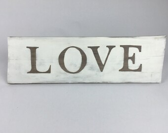 Wedding Signs, Wooden Signs, Wood Signs, Wooden Sign with Sayings - Love