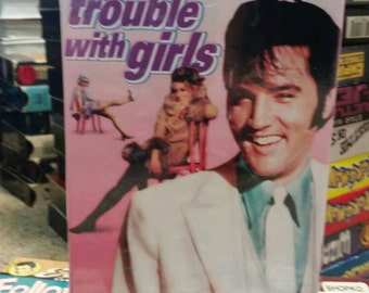 Elvis Presley Unopened VHS- The Trouble With Girls- Musical Rock n' Roll