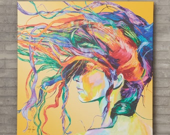 Windswept - Painting Print on Canvas