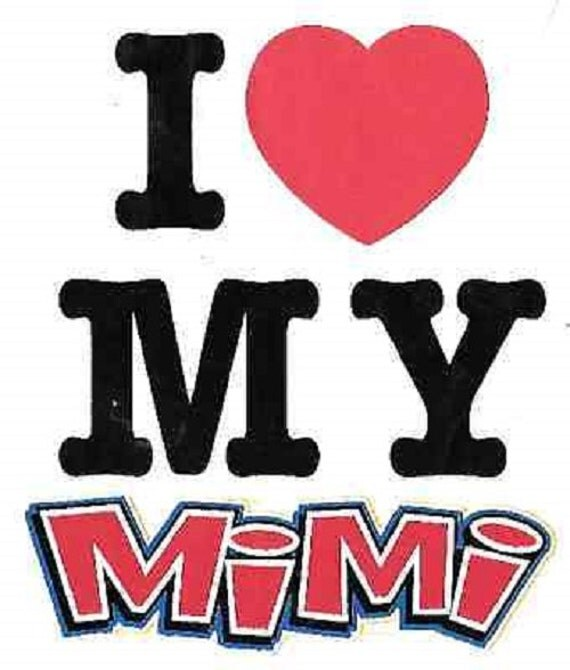 Mimi I Love My Bodysuit Onesie Kid Infant By