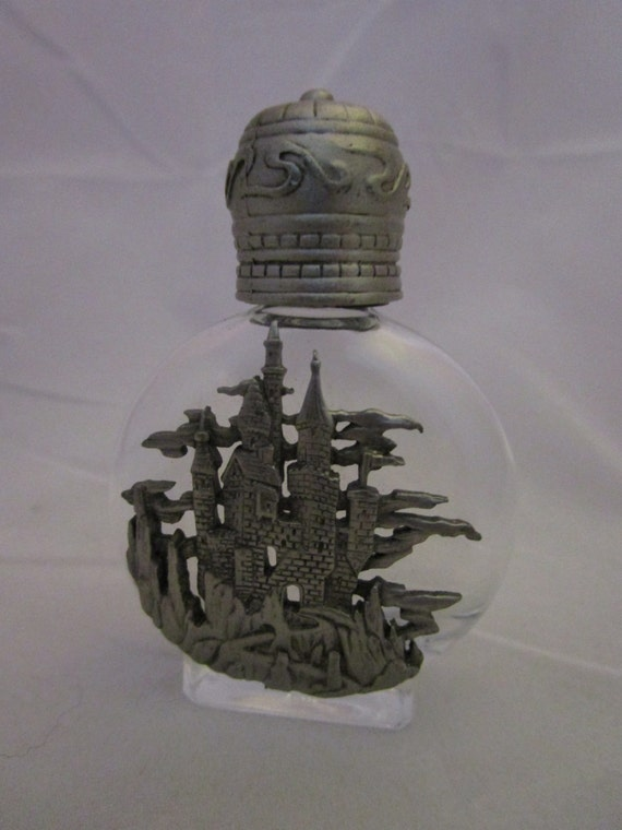 Wicked Witch Castle on small glass bottle.