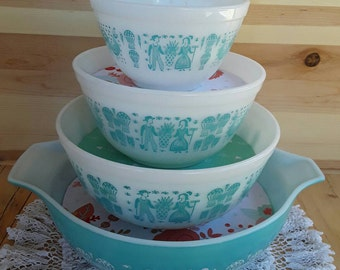 Pyrex Bowl Display Staking Solution