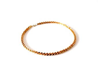 Small Vintage Golden Chain Necklace