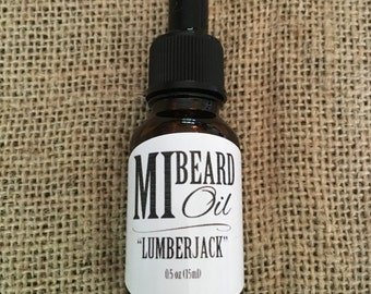 "MI Beard Oil ""Lumberjack"""