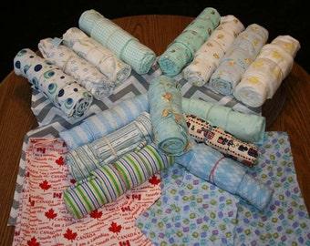 Recieving Blanket & Burp Cloth Set