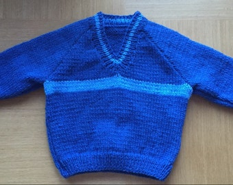 Boys Hand Knitted Jumper