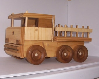 Handmade replica of the famous Mercedes Lorry Truck