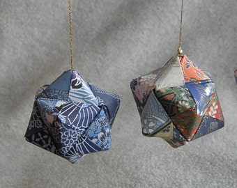 Origami polygon ornament