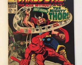 Daredevil #30! Thor appearance! Marvel 1967