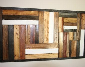 Pallet art, wood art, wood decor, pallet decor, home decor, wood art hanging, wood hanging, artwork, reclaimed decor, reclaimed art,
