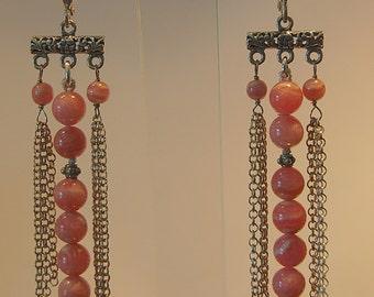 Chain link Rhodocrosite