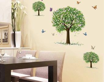 Tree Wall Decal Vinyl Wall Decal Wall Art Wall Decor